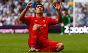 Is Luis Suarez Chomping at the Bit for a move?
