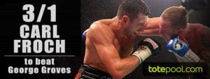 Froch Groves Betting Odds