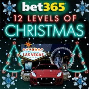 bet365 Casino 12 Levels of Christmas