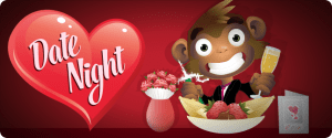 Monkey Bingo Valentines Promotion