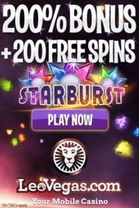 leo vegas mobile casino free spin bonus