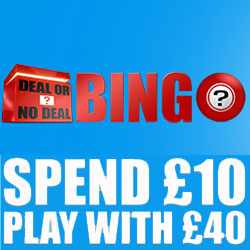 Deal or No Deal Bingo Review
