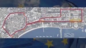 Baku Grand Prix Map